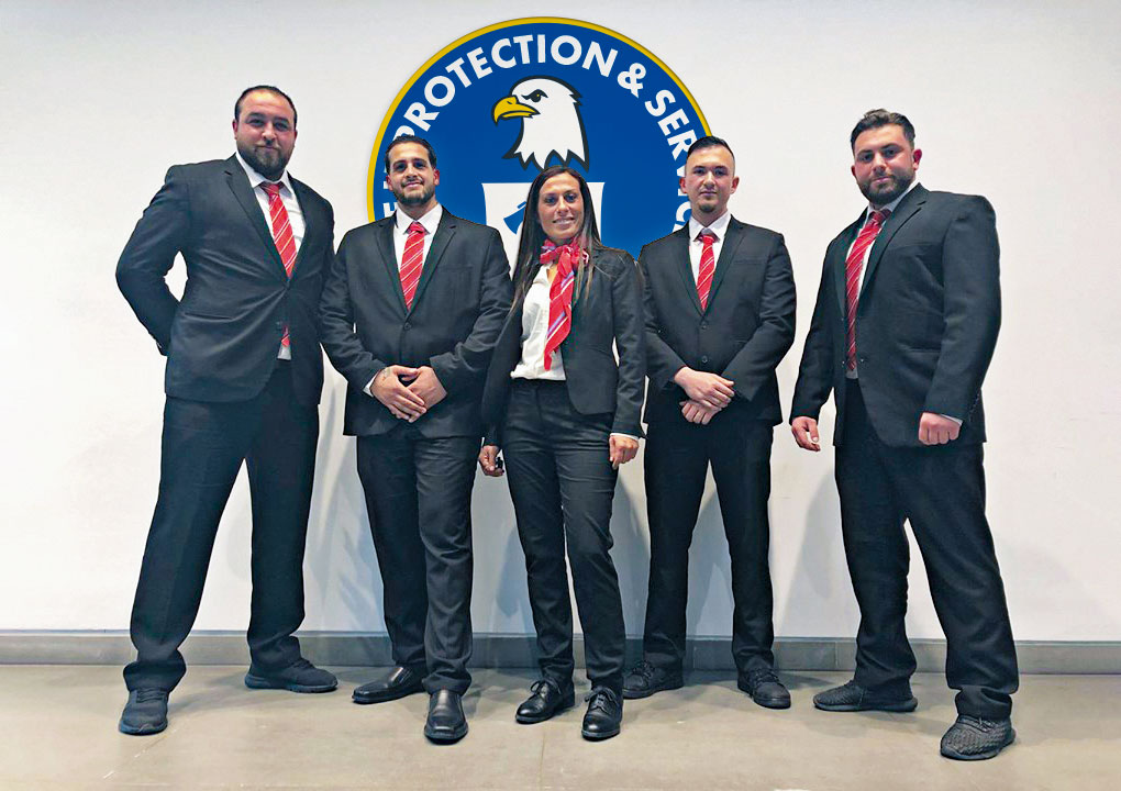 BPS Protect Security - Teamfoto